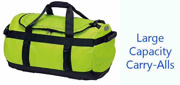 Large capacity carry-alls bags