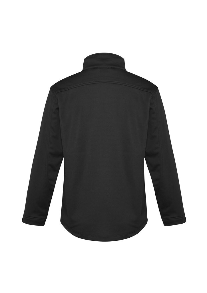 Plain Soft Shell Jacket Mens Biztech