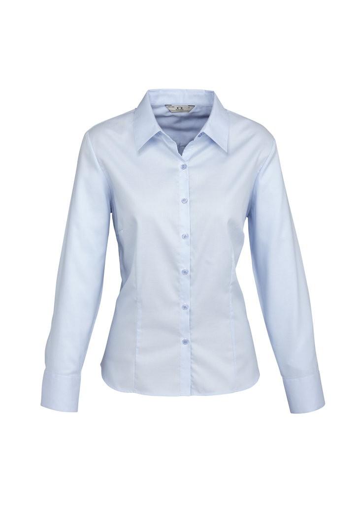 Luxe Long Sleeve Shirt Ladies 100 Premium Cotton