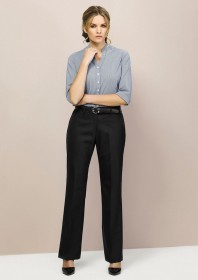 Ladies-Relaxed Fit - Straight Leg Pant