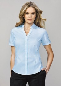 Bordeaux Short Sleeve Shirt - Ladies
