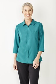 Womens Plain 3/4 Sleeve shirt