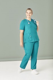 Womens V Neck Scrub Top