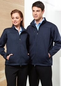 Plain Soft Shell Jacket - Mens BIZTECH