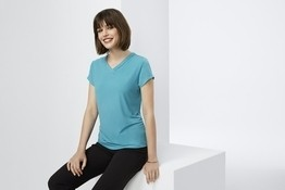 Lana Short Sleeve Top-Ladies