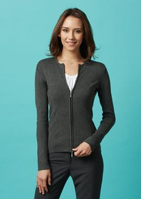 Cardigan - Ladies 2 Way Zipper