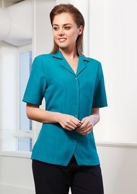 Oasis Plain: Ladies Action Back Overblouse