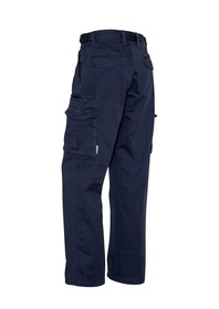 Basic Cargo Pant (Regular)-Navy