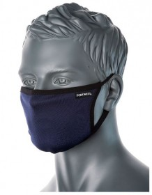 anti covid fabric face mask (navy color)