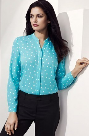 Ladies Juliette Spot Print Blouse