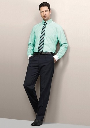 Mens-One Pleat Pant