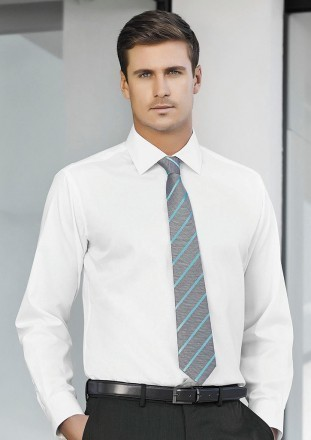 Tie - Mens Single Contrast Stripe