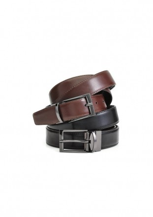 Belt - Mens Leather Reversible