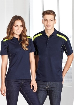 United Short Sleeve Polo - Ladies