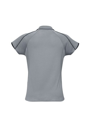 BIZ COOL Blade Polo for Ladies - Silver Colour
