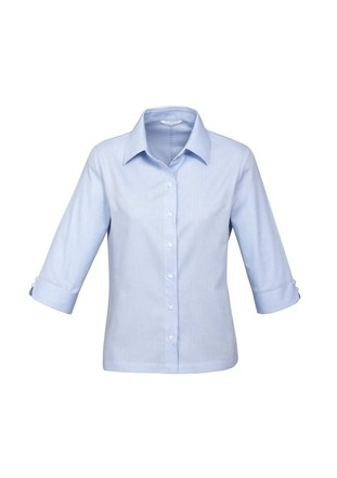 Luxe 3/4 Sleeve Shirt - Ladies (100% Premium Cotton)